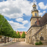 St. Nicolai church in the historical center of Rinteln