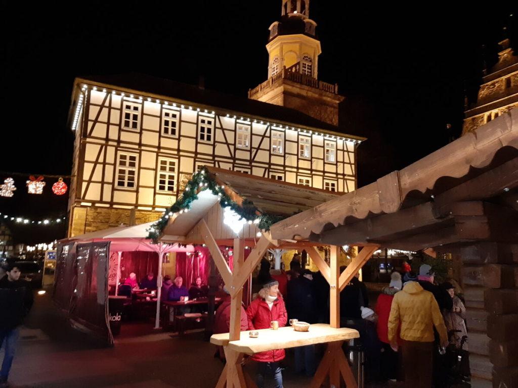 Marktplatz Rinteln Weihnachtsmarkt